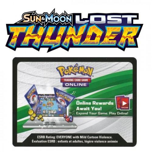 Pokemon Sun & Moon: Lost Thunder Online Booster Code