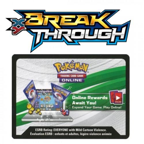 Pokemon XY: Break Through Online Booster Code