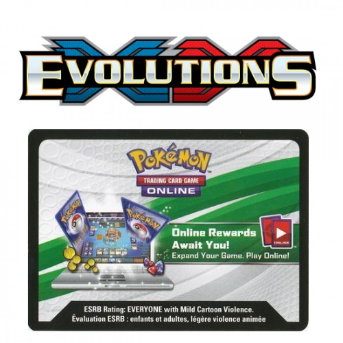 Pokemon XY: Evolutions Online Booster Code