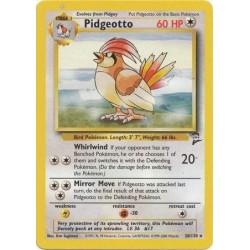 Pidgey 86//130 Base Set 2 Common Pokemon Card Excellent