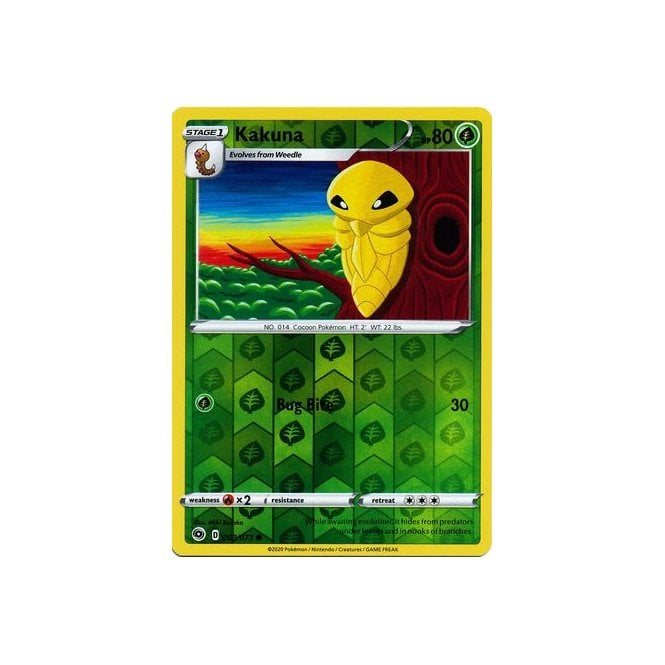 - MINT Pokemon KAKUNA 003//073 Champion/'s Path Rev Holo