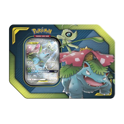 Celebi & Venusaur Tag Team GX Tin (Pokemon TCG)