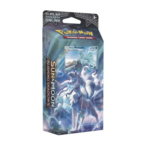 Pokemon Sun & Moon - Burning Shadows Theme Deck: Luminous Frost (Ninetales)