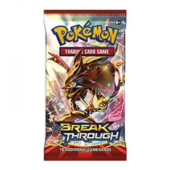 New and Sealed! Pokemon XY Breakthrough Booster Pack