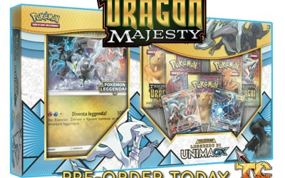 Legends of Unova GX Box announced for Dragon Majesty!