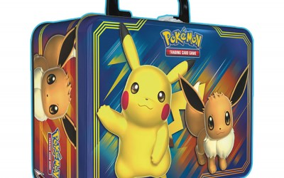 The next Pokemon Collector's Chest will feature Pikachu and Eevee and releases this Autumn!